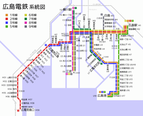 Hiroshima_electric_railway_map